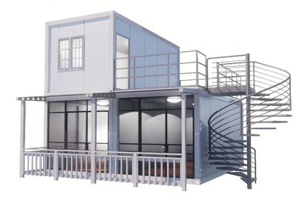 nhà-container-lắp-ghép-2-tầng